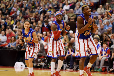 Die Harlem Globetrotters in Los Angeles