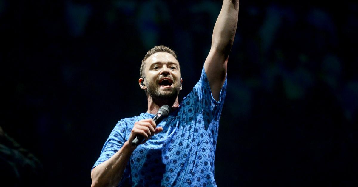 Justin Timberlake Konzert