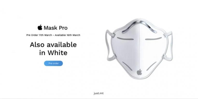 Die Apple iMask soll nicht in den Handel kommen