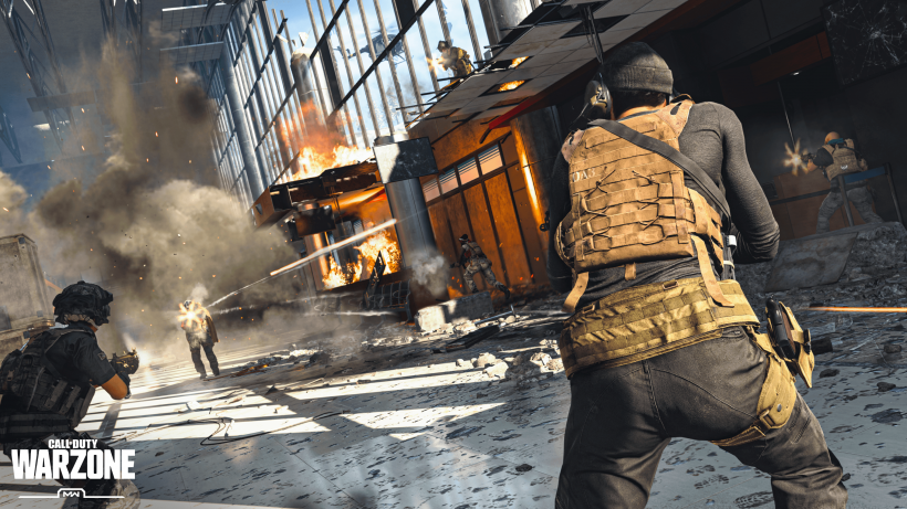 Call of Duty: Warzone - Kampf