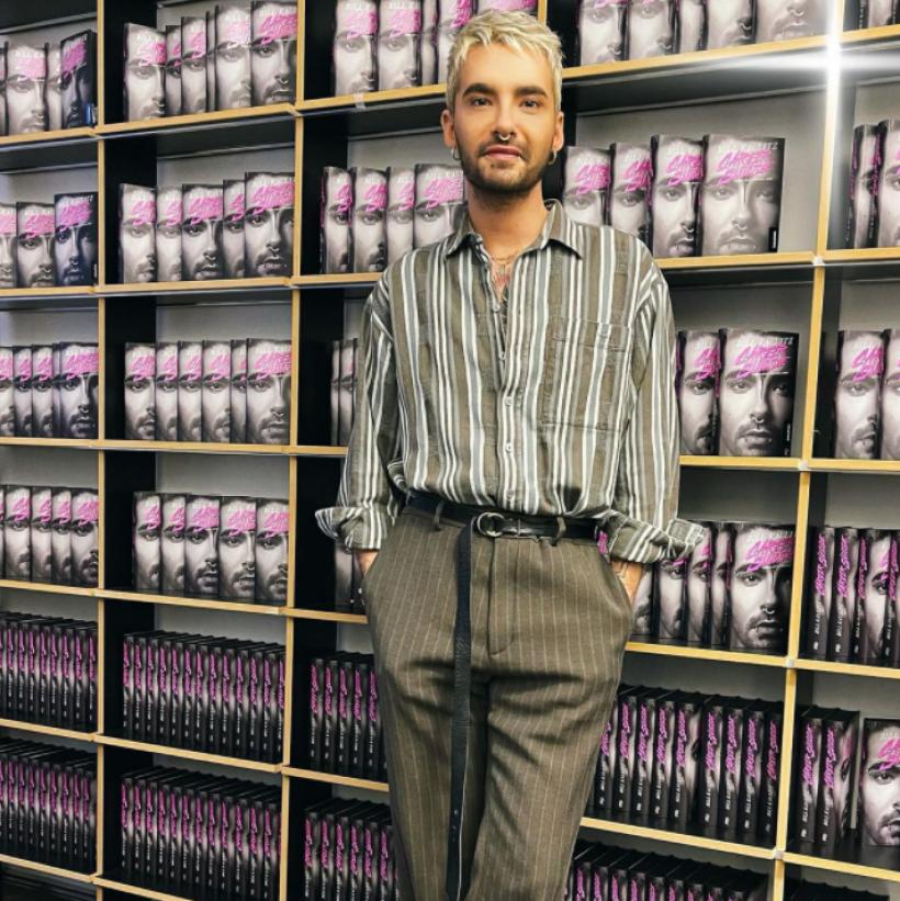 """Bill Kaulitz beim Pressetermin zu seiner Buchvorstellung von """"Career Suicide"""""""