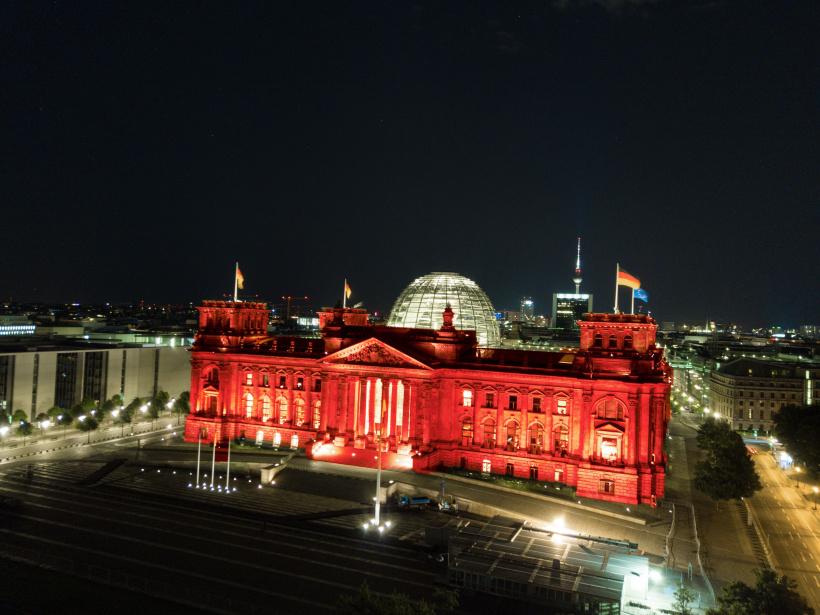 Night of Light 2020 Bundestag