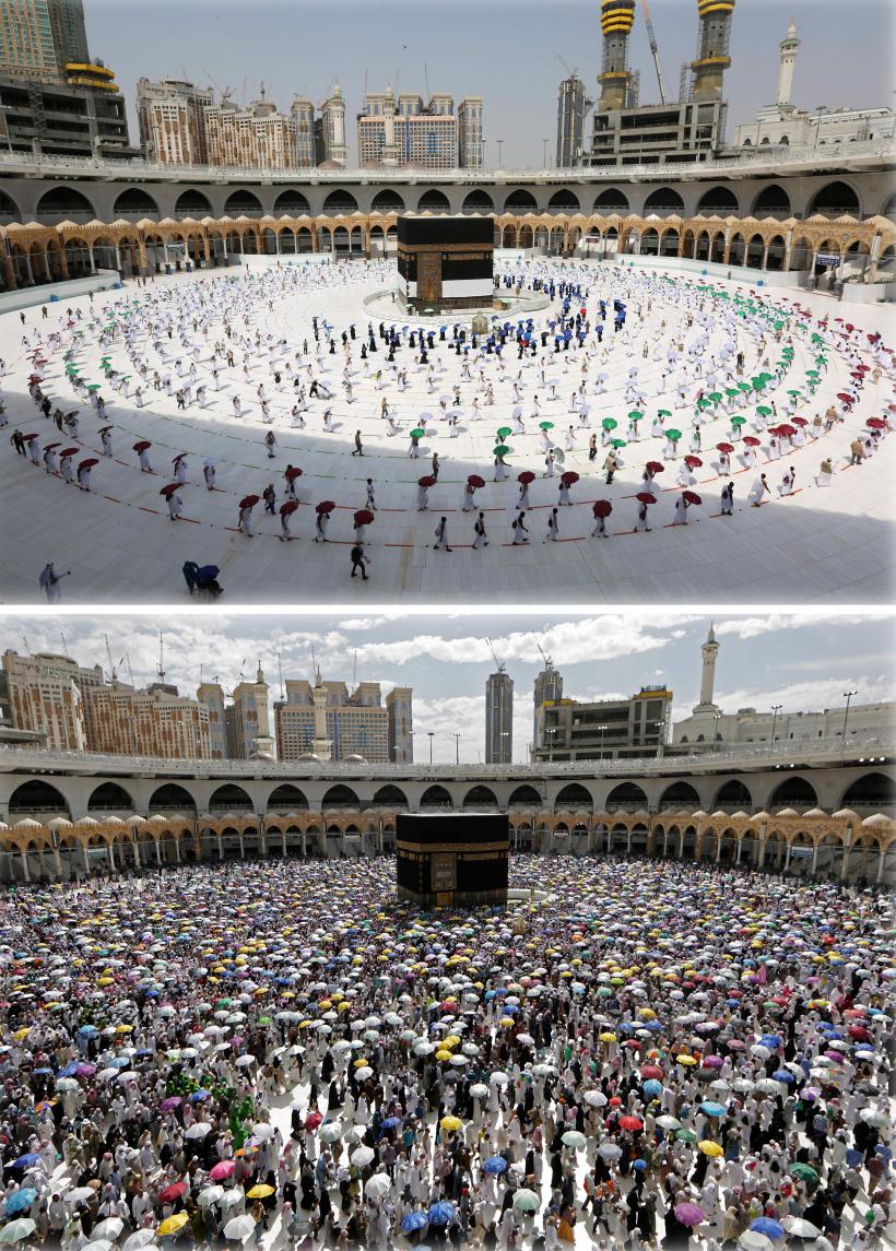 2019 versus 2020: So sieht es in Mekka in Zeiten von Corona aus