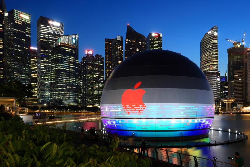 Der neue Apple Flagship Store in Marina Bay Sands/Singapur