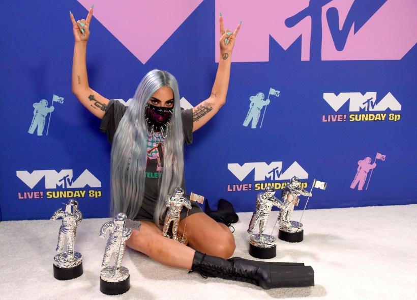 Abräumerin des Abends: Lady Gaga mit ihren fünf Awards