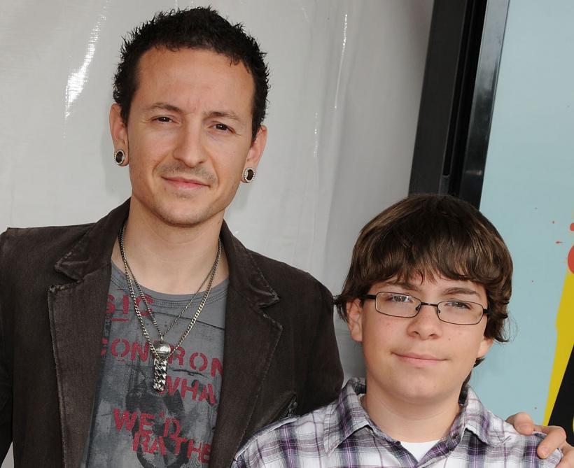 Chester Bennington & Sohn