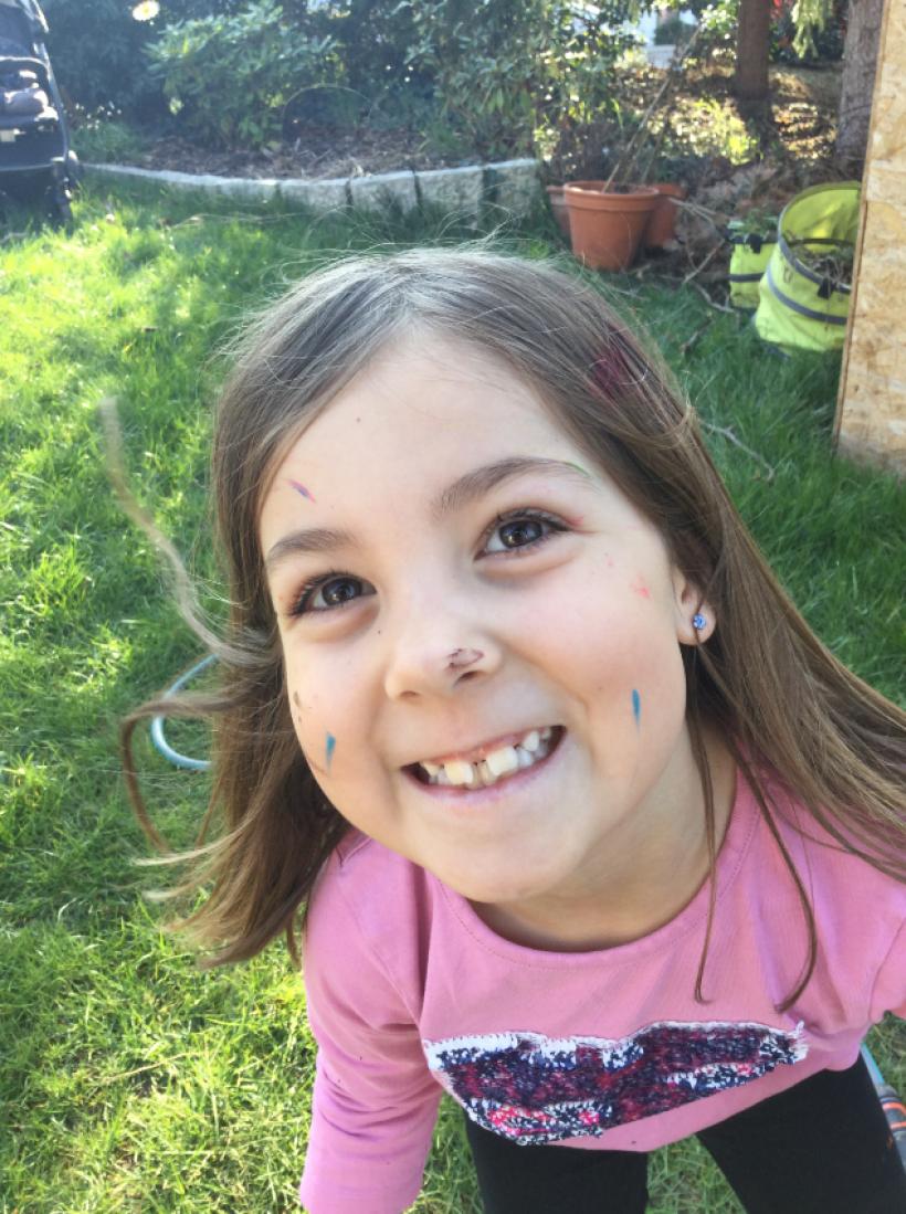 Hannah sucht dringend einen Stammzellenspender
