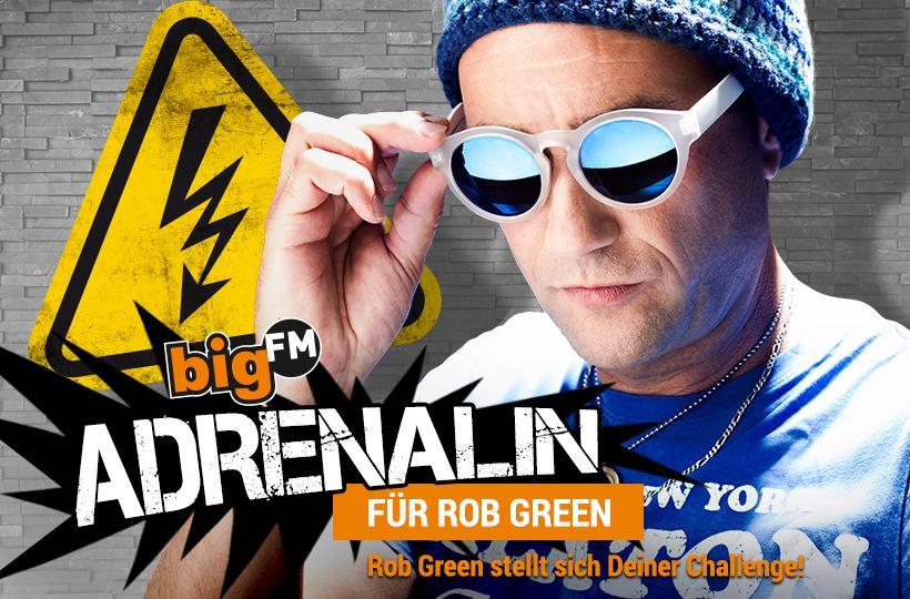 Adrenalin für Rob Green