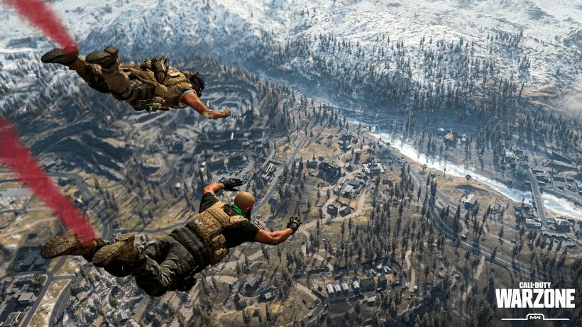 Call of Duty: Warzone - Fallschirmsprung