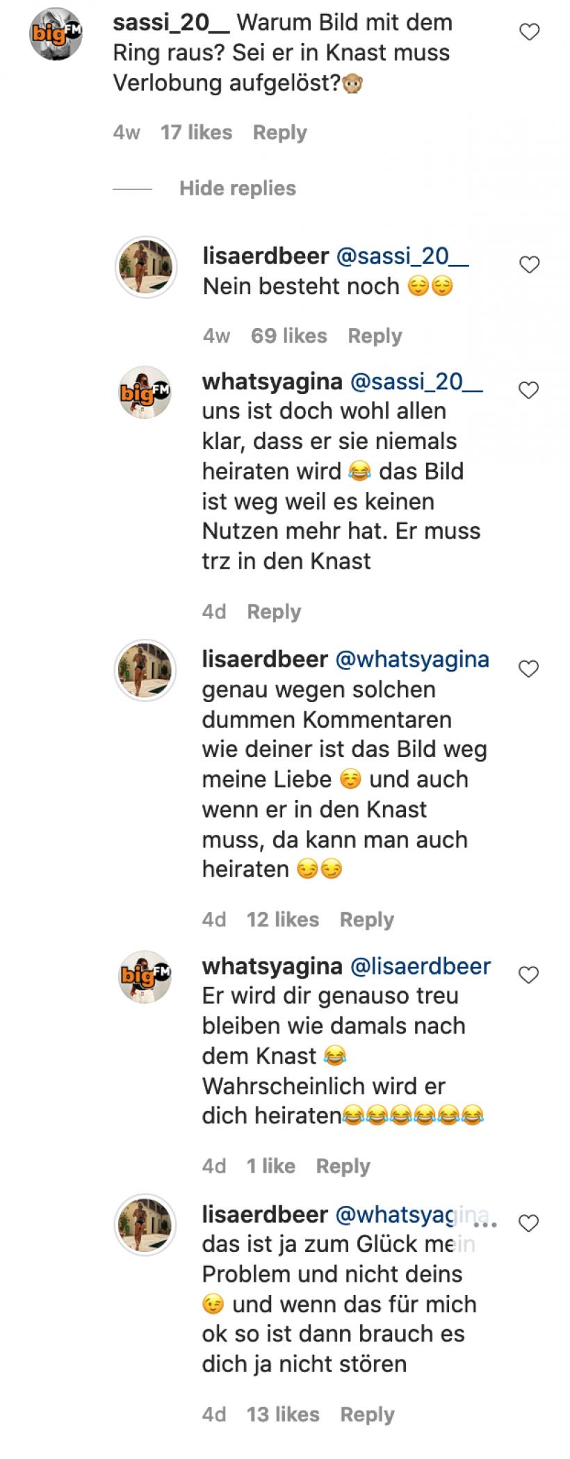 Lisa-uber-Verlobung-mit-Gzuz-und-Ring-Instagram-Kommentarfeld.png