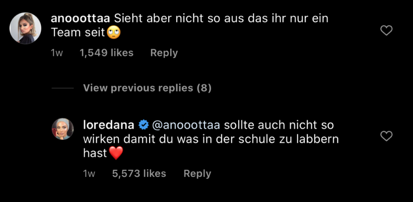 Loredana-Instagram-Kommentar.png