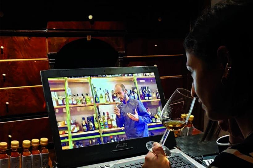 Online-Tasting Galander-Bar