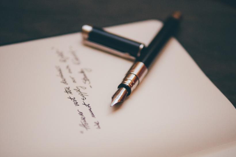 Ein handgeschriebener Brief ist etwas schönes