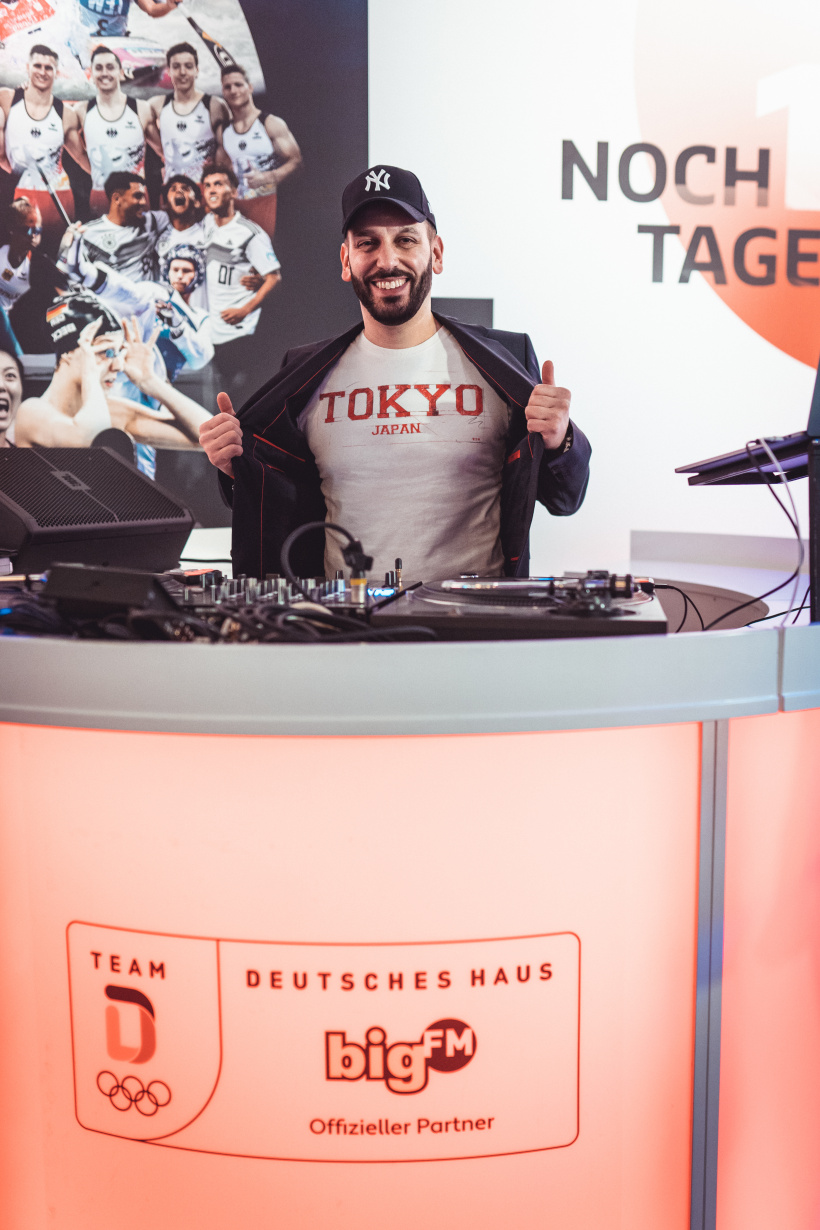 bigFM Ball des Sports DJ Boulevard Bou