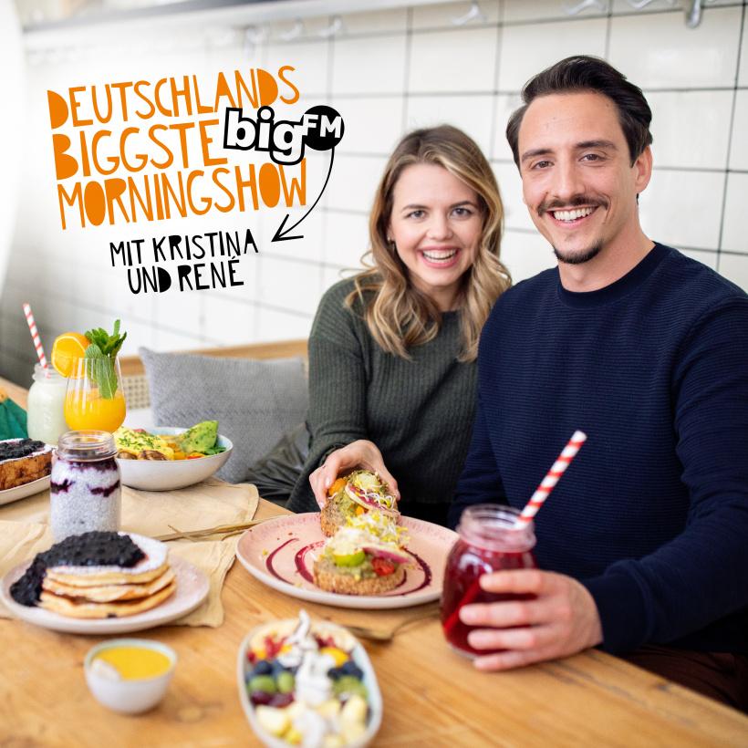 Deutschlands biggste Morningshow mit Kristina und René