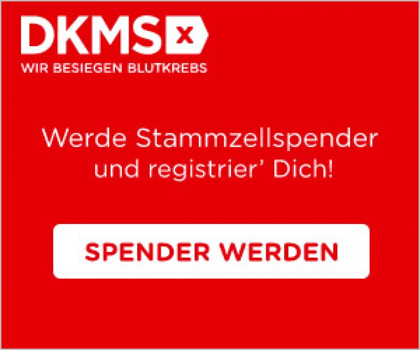 DKMS - Registrierung