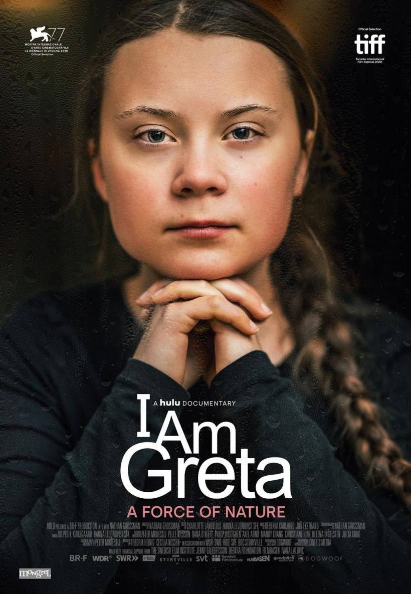 "Greta Thunbergs Dokumentation mit dem Titel ""I'm Greta"""