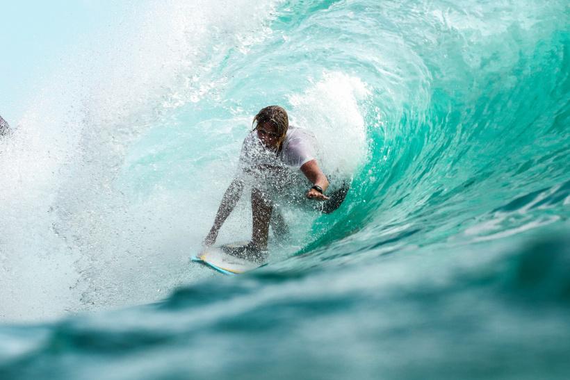 Seit 2021 ist Surfen eine olympische Disziplin