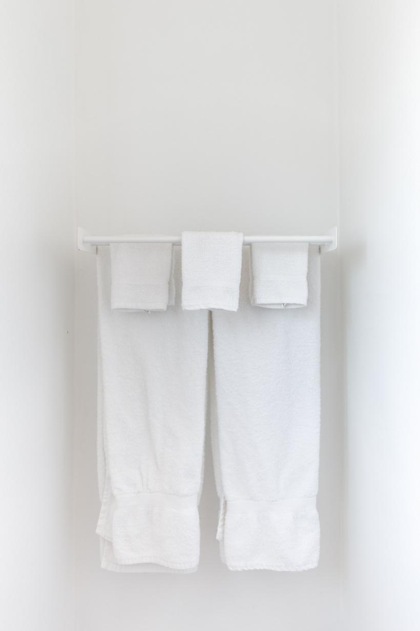 Unglaublich, wie viele Handtücher während der Olympischen Spiele gebraucht werden