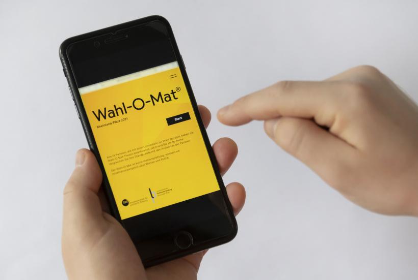 Wahl-O-Mat ganz einfach via Handy