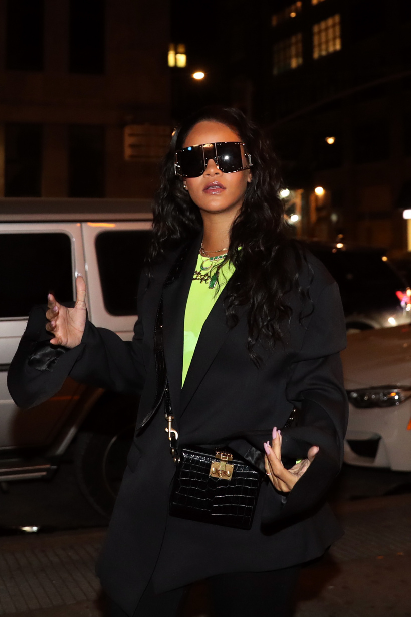 Rihanna attends 718 Spank In Concert at S.O.B.'s