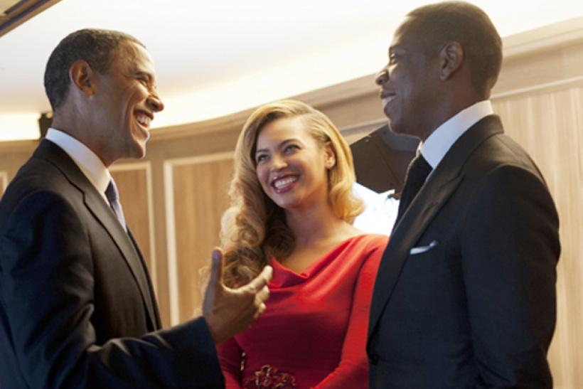 Barack Obama, Beyoncé und Jay-Z