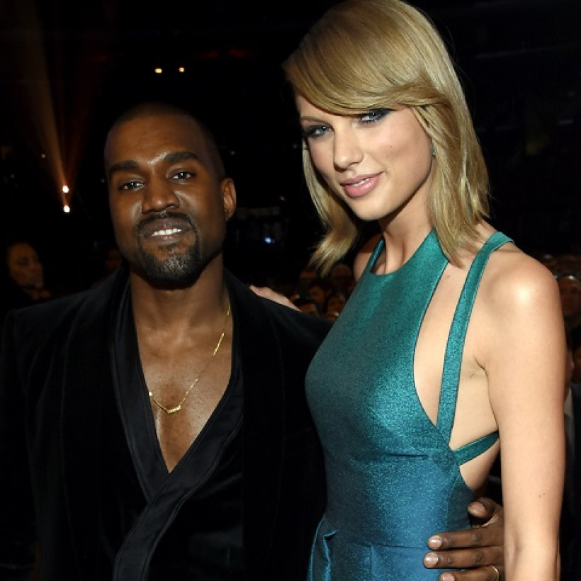 Taylor Swift Kanye West Von Larry Busacca